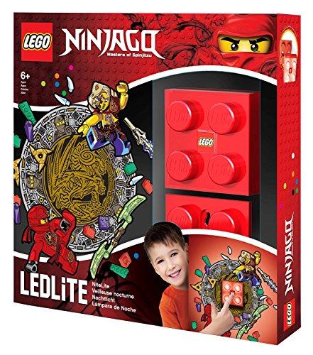 Lego Ninjago Wandlicht – Kai - Lego Grundplatten Großen