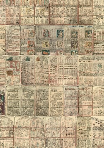 Ancient Maya Codex: also known as the Dresden Codex or Codex Dresdensis por The Maya
