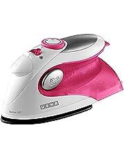 USHA TECHNE Travel Iron Direct 500 Pink