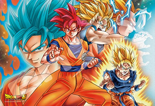 300 Piece Jigsaw Puzzle Dragon Ball Super I Would Like to Fight with Super Strong Guy Frost Art Jigsaw (26x38cm)