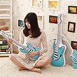 Global- oreiller guitare personnalité Creative coussin de bande dessinée en peluche cadeau de bureau canapé coussin