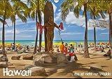 Hawaii … das ist nicht nur Waikiki (Wandkalender 2018 DIN A3 quer): Hawaii - der 50. Bundesstaat der USA. Die Inselket