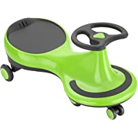 Magpie Magic Car/Swing Car Ride-On Toy Car for Kids (1-12 Year Old) (Bright Green)