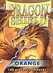 Dragon Shield Standard Sleeves (Orange)