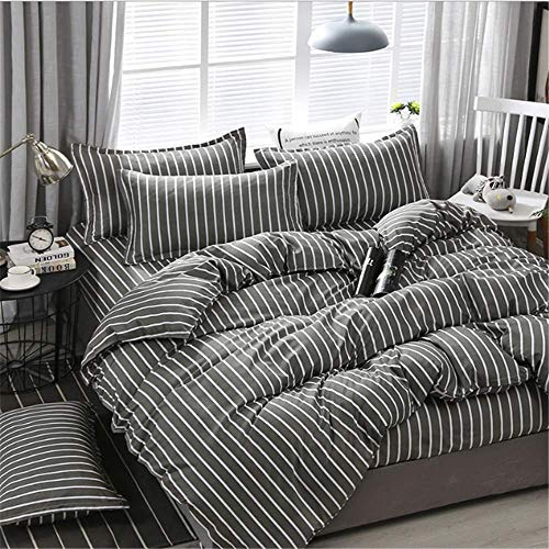 ts Königin King Size Bettbezug Set Bett Set Kissenbezug Bettwäsche E 220x240cm ()