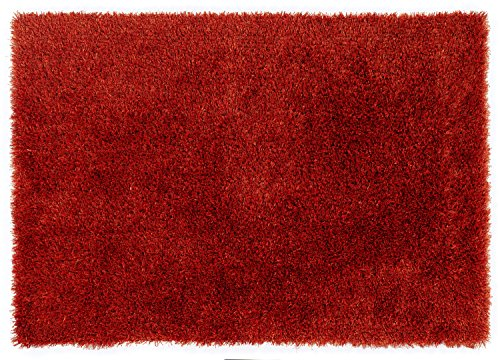 SUPERNOVA SHAGGY moderner Teppich, Shaggy, Langflor, Hochflor in kupfer, Größe: 200x250 cm -