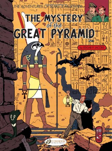 Blake & Mortimer - tome 2 The mystery of the great pyramid partie 1 (02)