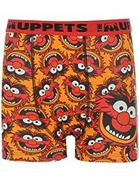 Disney Les Muppets Animal Boxer Juniors Orange Pantalon pour homme