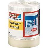 Tesa 04368-00009-01 Easy Cover 4368 Premium schildercrêpe met afdekfolie 33 m: 1400 mm