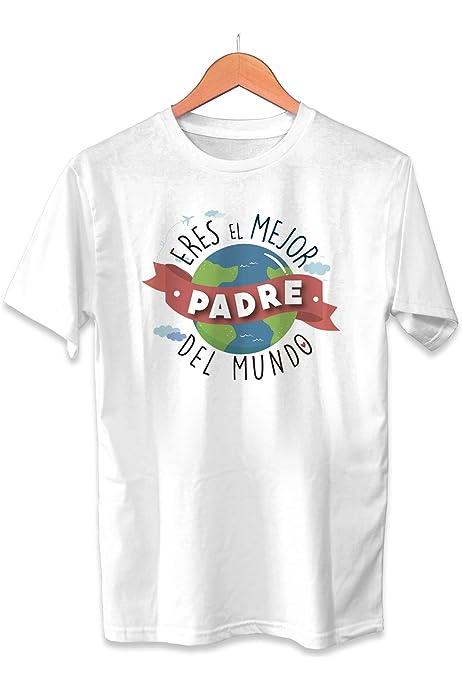 Muy Chulo Camiseta Eres el Mejor Padre del Mundo Dia del ...