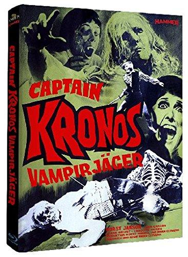 Captain Kronos - Vampirjäger - Hammer Edition Nr. 15 - Mediabook [Blu-ray] [Limited Edition]