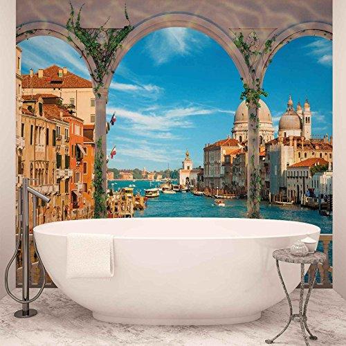 Arches Venise Italie Papier peint photo Décoration Murale image papier peint (1072fw), Intissé (EasyInstall), XL - 208cm x 146cm