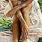 Flash Tattoos Isabella Authentic Metalli...