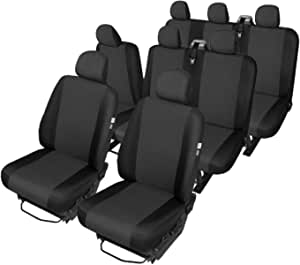 Z4l Sitzbezüge Hero Passgenau Geeignet Für Fiat Talento Ab 2016 8 Sitze Auto