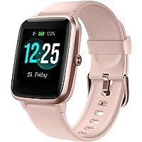 PUTARE Smartwatch, Fitness Tracker Schrittzähler Wasserdicht IP68 Sportuhr mit Pulsuhren Fitnessuhr für Android iOS…