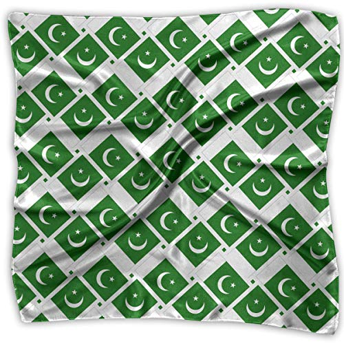 Aeykis Handkerchiefs Scarf Pakistan Flag Weave Novelty Shawl Bandanas Multi-Function Party Gifts