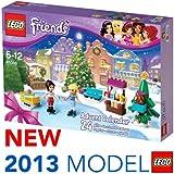 Hengheng Shop Calendrier de l'avent Lego Friends contenant 24 cadeaux ravissants pour fille, modèle 41016