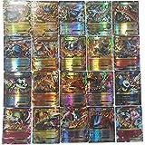 (80EX+20MEGA) 100 Pcs Pokemon EX GX MEGA Trainer Energy Cards