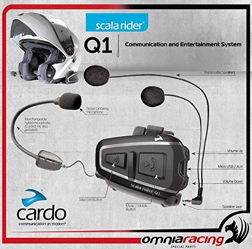 Preisvergleich Produktbild CARDO INTERFONO SCALA RIDER Q1 SINGOLO