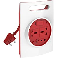 Goldmedal Curve Plus 205132 Plastic 16A G-Expert 3-Pin 3.5m High Grade Cable Extension Cord (White and Red)