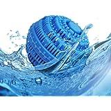 Boule de Lavage Boule de Lessive Boule à Linge Anti-Poil Naturelle Ecologique Réutilisable pour Machine à Laver Balle Lave-Li