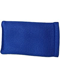 blue Mesh Slip-in Spongy Sunglasses Spectacles Glasses Pouch Case