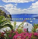 Griechische Inseln - Kalender 2019: Im Land der Götter