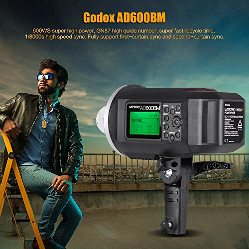 Godox-WITSTRO-AD600BM-600WS-GN87-Flash-Godox-XT32C-Wireless-Power-Controllo-Trigger-Esterno-Flash-Strobe-per-Canon