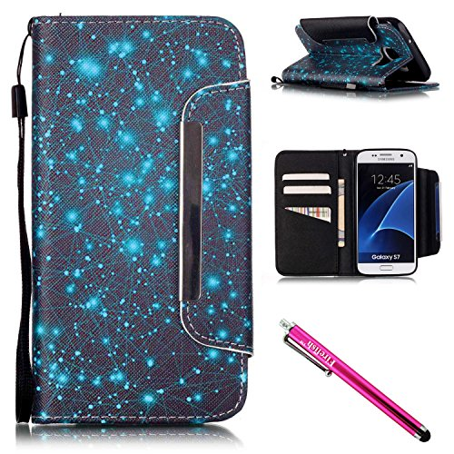 galaxy-s7-case-firefish-card-slots-kickstand-flip-folio-wallet-case-synthetic-leather-shell-scratch-