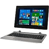 MEDION AKOYA E1239T MD 60619 25,7cm (10,1 Zoll Full HD Display) Convertible Touch-Notebook (Intel Atom x5-Z8350, 2GB RAM, 128GB Flash, Intel HD-Grafik, Win 10 Home) Silber