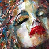 Holzbild 40 x 40 cm: Last Chapter, Marilyn Monroe von Paul Paul Lovering Arts