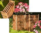 bambus-discount.com Paravent aus Weiden Zweige, Paravent Höhe 180cm x Breite 240cm, 4 teilig - Raumtrenner mobiler Sichtschutz