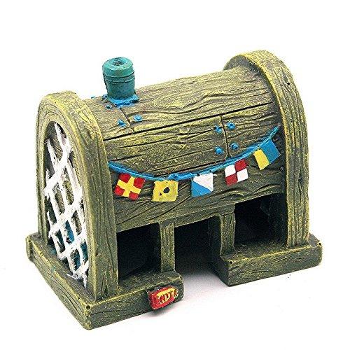 funnytoday365Comic Spongebob Du Aquarium Ornaments Dekorationen FISCH Tank
