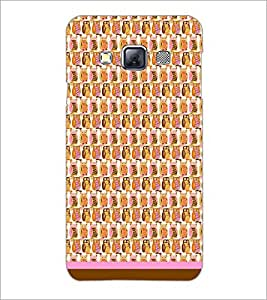PrintDhaba Owl Pattern D-1670 Back Case Cover for SAMSUNG GALAXY A3 (Multi-Coloured)