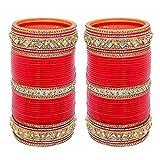 Lucky Jewellery Bridal Punjabi Choora Wedding Chuda Stone Fashion Chura