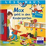 LESEMAUS: Sonderausgabe Max geht in den Kindergarten: Mit 4 starken 3D-Stickern
