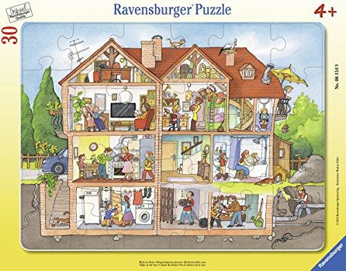 Ravensburger Rahmenpuzzle 06154 Blick ins Haus