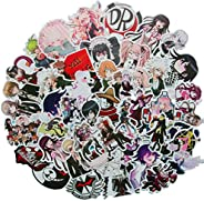Meet Holiday Japan Anime Game Danganronpa: Trigger Happy Havoc Laptop Stickers Water Bottle Travel Case Car Sk