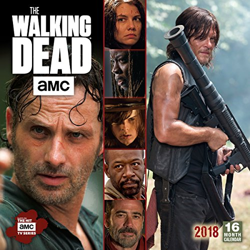 The Walking Dead AMC 2018 Calendar