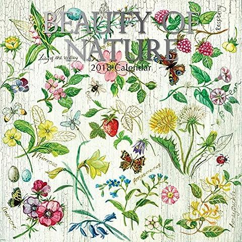 Beauté de la nature 2018carré Calendrier mural