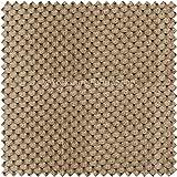 Weiches Samt Spotted Dotted Effekt Jumbo Cord Kissen In Der Farbe Braun Nerz Stoff Polster Stoff für Vorhänge Mit Stühlen Booten Sofas