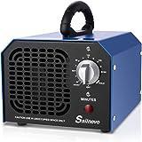 Sailnovo Generador de Ozono Hogar 6000 mg/h Máquina de Ozono Para Coche Desinfectador de ozono Purificador Ozono de Aire con