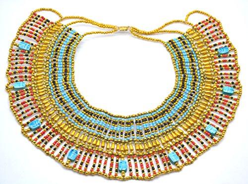Kostüm Ägypten Kleopatra Von - Halskette Pectoral Rechnungshof, Kleopatra Antik Ägypten Bauchtanz, Kostüm,