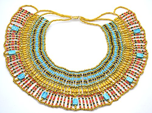 Bauchtanz Pharaonen Kostüm - Halskette Pectoral Rechnungshof, Kleopatra Antik Ägypten Bauchtanz, Kostüm,