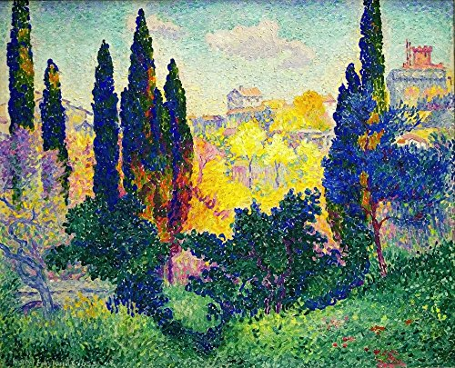 Das Museum Outlet - Cypress Trees at Cagnes, 1908 3 - Poster (61 x 81,3 cm)