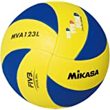 Mikasa UNDER13 volleybal, unisex, voor kinderen, blauw/geel