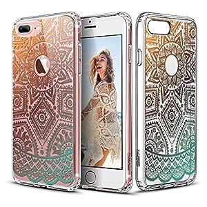 Capa para iPhone 7 Pluscom mandala Alheña de Oro