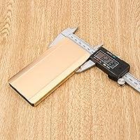 Gugutogo 150mm 15cm 6 Pulgadas Profesional Pantalla LCD Digital Electrónica de Acero Vernier Caliper Gauge Micrómetro Herramienta de Medición (Color: plata y negro)