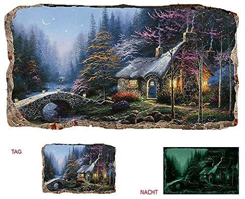 Startonight Papier Peint 3D Paysage Féerique, Décoration Murale Photo sur