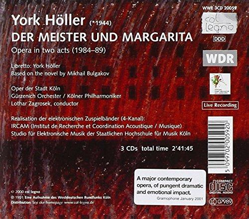 York Höller : Der Meister und Margarita
